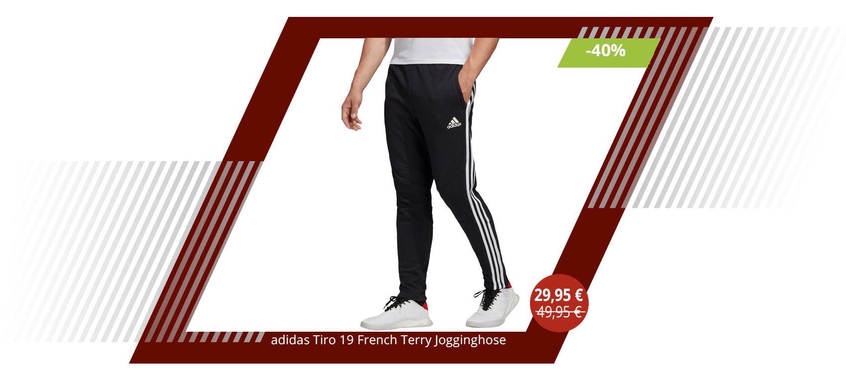 adidas Tiro 19 French Terry Jogginghose