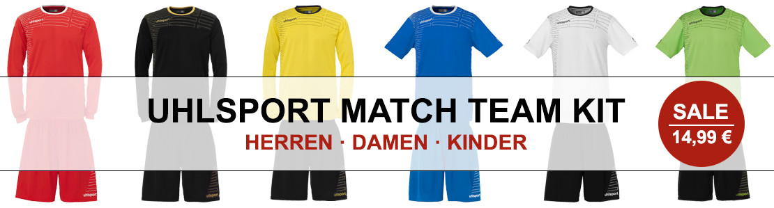 Uhlsport Match Team Kit Angebot
