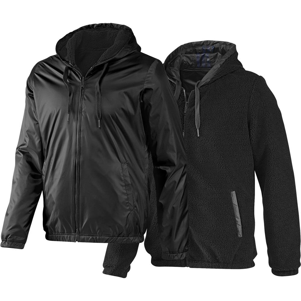 adidas neo reversible sherpa herren windbreaker wende. Black Bedroom Furniture Sets. Home Design Ideas
