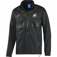 adidas DFB Colorado Retro Windbreaker Herren Jacke Windjacke schwarz/gold