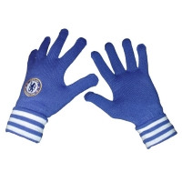 adidas FC Chelsea London Handschuhe Gloves blau