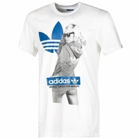 adidas Originals Graphic Tee Girl Herren T-Shirt weiß