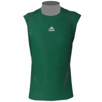 adidas Techfit Powerweb Tight Shirt SL grün