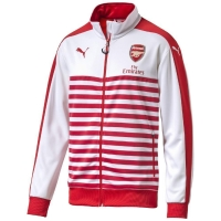 Puma FC Arsenal London Herren Anthem Jacke rot/weiß