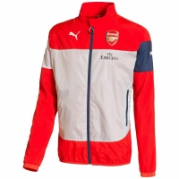 Puma FC Arsenal London Herren Leisure Jacke rot/weiß
