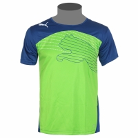 Puma evoSPEED Cat Graphic Tee dunkelblau/grün Herren T-Shirt