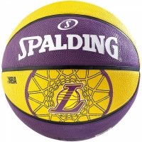 Spalding Basketball Team Ball L.A. Lakers (65-830Z) Gr. 3