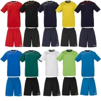 Uhlsport Match Team Kit (Shirt&Shorts) SS Fußball Trainingsset