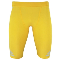 adidas Techfit Powerweb Climacool Compression Short Funktionshose Herren gelb