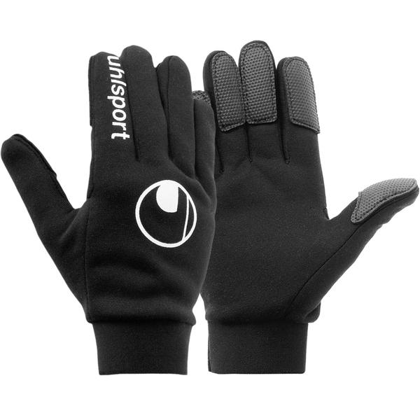 Spielerhandschuh  Handschuhe Fingerhandschuh schwarz