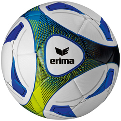 Erima HYBRID TRAINING Fußball royal/lime Gr. 5