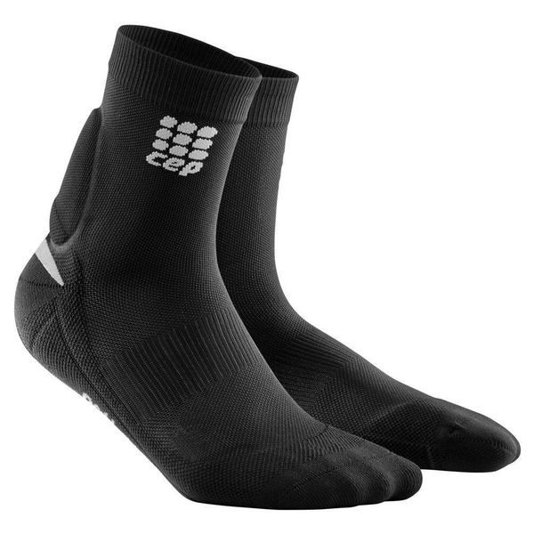 CEP Ortho Achilles Support Short Socks Women Black III