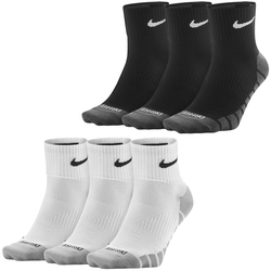 Nike Dry Leightweight Quarter Trainingssocken 3er Pack