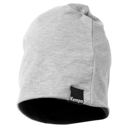 Kempa Caution Beanie Mütze Grau One Size