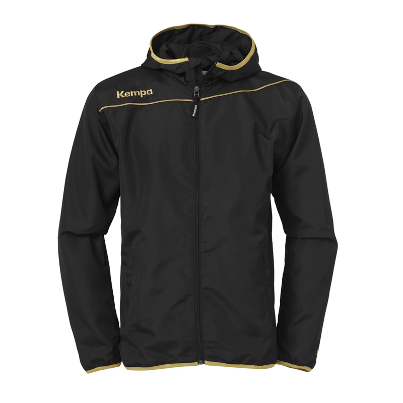 Jacken & Mäntel Nike Air Coach Jacket Regenjacke Woven Hybrid Schwarz Weiß Big Swoosh Logo