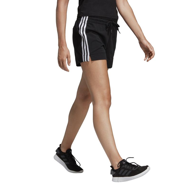 adidas Essentials 3-Streifen Shorts Damen schwarz/weiß XS