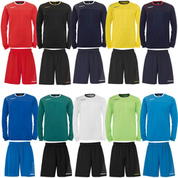 Uhlsport Match Team Kit (Shirt&Shorts) Ls Fußball...