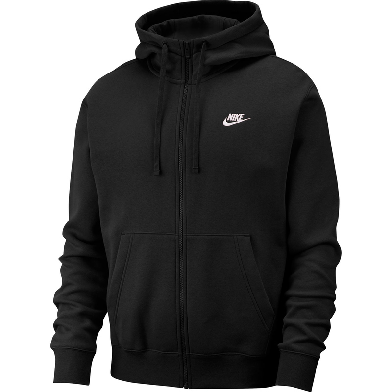 Nike Sportswear Club Fleece Hoodie blackwhite M, 39,90 €