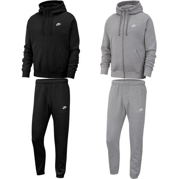 procedimiento Consistente gusto  NIKE Sportswear Club Fleece Jogginganzug black/white L, 74,95 €