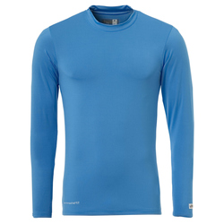 Uhlsport Distinction Funktionsshirt langarm cyan 140