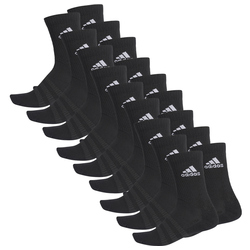 9er Pack adidas Cushioned Crew Sportsocken