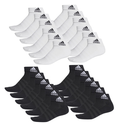 12er Pack adidas Cushioned Ankle Socken