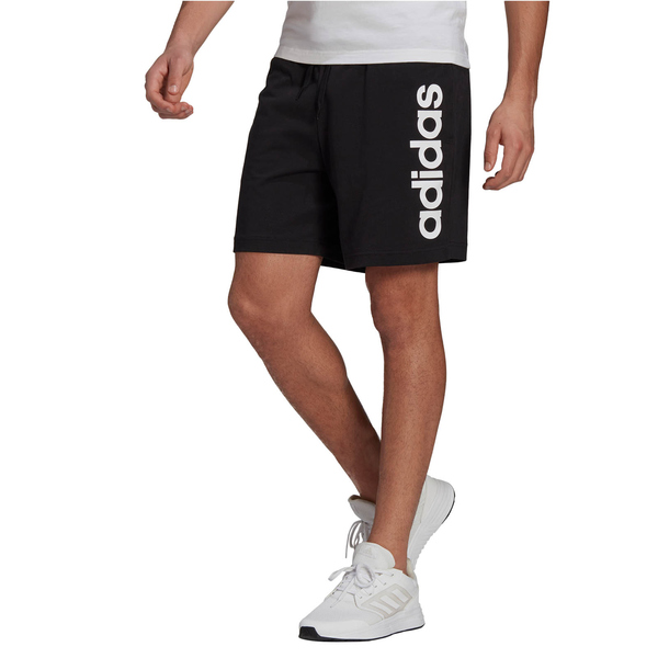 adidas Essentials Linear Logo Shorts black/white M