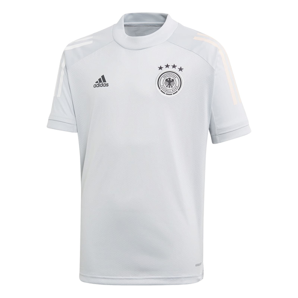 adidas DFB Deutschland Trainingstrikot Kinder EM 2021 clgrey 176