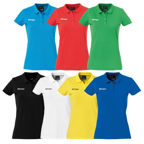 Kempa POLY POLO SHIRT Herren Handball Poloshirt Polohemd Team Funktionsshirt